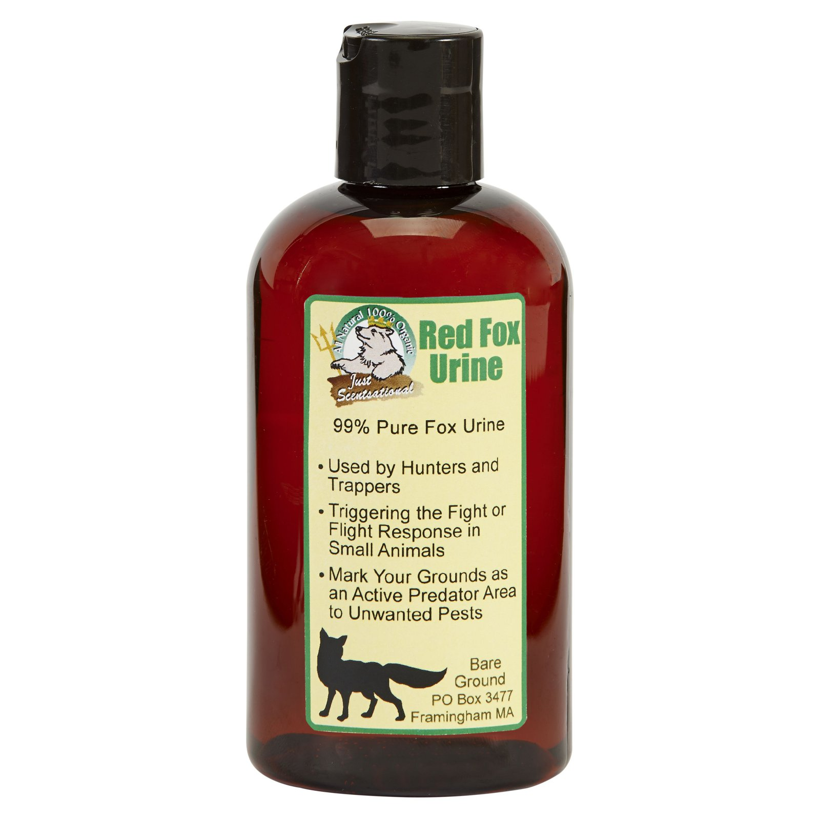 Just Scentsational Fox Urine By Bare Ground