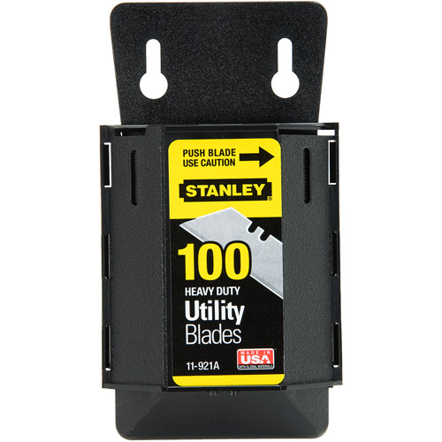 Stanley 100ct Knife Blade, 11-921A