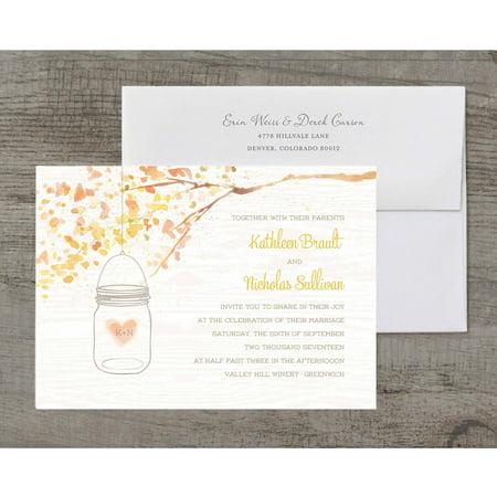 Jar of Love Deluxe Wedding Invitation