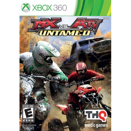 THQ MX vs ATV Untamed, Nordic Games, XBOX 360, (Best Xbox 360 Games)