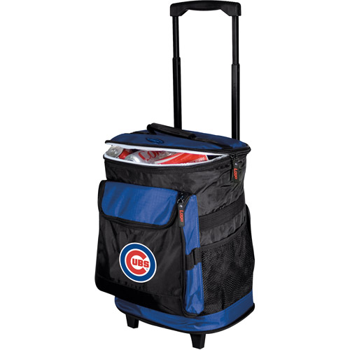 "Logo Chair MLB Chicago Cubs 15"" x 16"" Rolling Cooler"