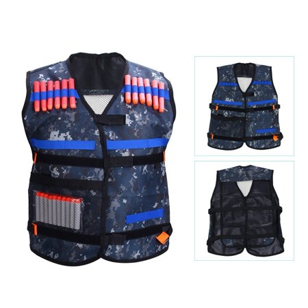 Yosoo Kids Elite Tactical Vest Jacket Adjustable Blasters Vest With Storage Pocket For Gun Elite Series Blasters Kid Toy Play And Other Outdoor Activities](Kid Stores Online)