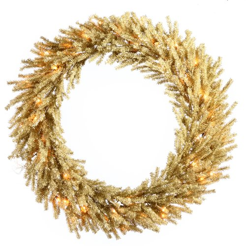 The Holiday Aisle Lighted Artificial Christmas Wreath