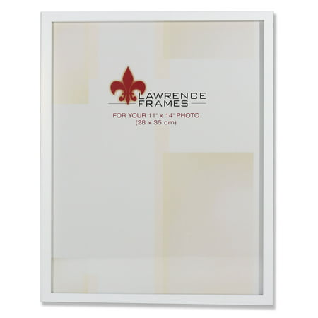 11x14 White Wood Picture Frame - Gallery Collection ()
