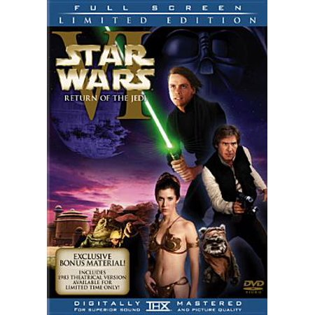 Star Wars Episode VI: Return Of The Jedi (Full Frame) (Martin Full Episodes Halloween)