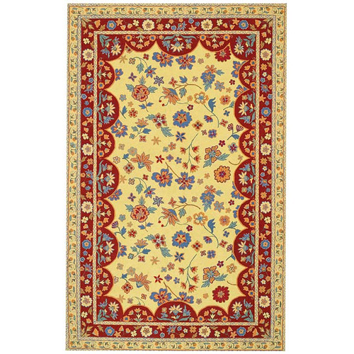 Capel Rugs Lorraine Amber Red Rug