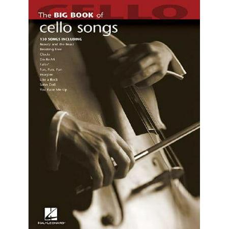 Big Book of Cello Songs (Song Cello)