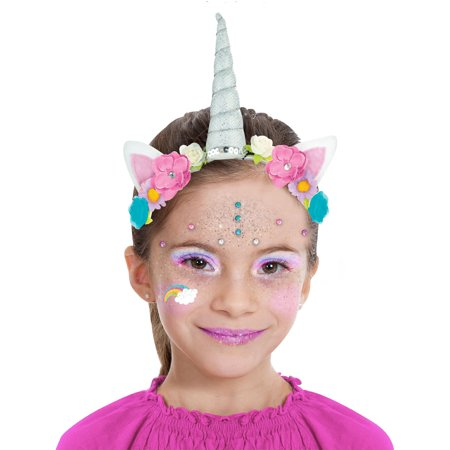 Almar Sales Company INC Unicorn Makeup Kit for Kids, Halloween Makeup, 10 Pieces - Halloween Sales Ads