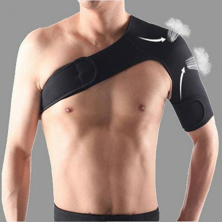 Adjustable Shoulder Support Brace Strap Joint Sport Gym Compression Bandage Wrap