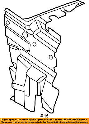 Chrysler Oem 11 14 300 3 6l V6 Air Cleaner Intake Shield 5182345ad