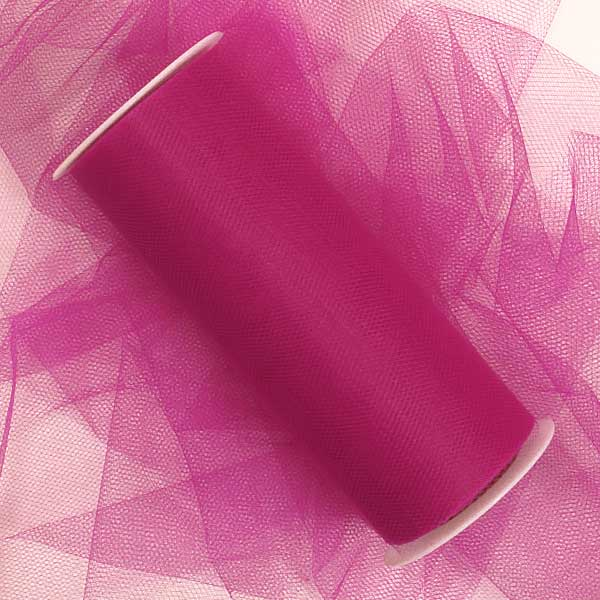 "Tutu Supplies Light Pink Tulle 6"" X 100 Yards  by Paper Mart"