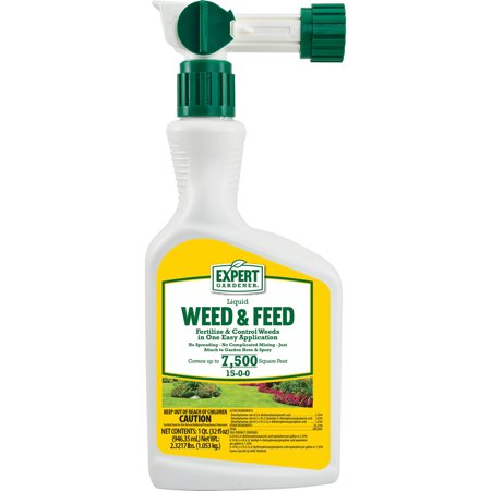 Expert Gardener Weed And Feed 15 0 0 Liquid Hose End