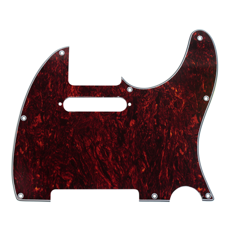 920D CS Tortoise 3 Ply Pickguard for Fender Telecaster Tele CNC Precision Cut