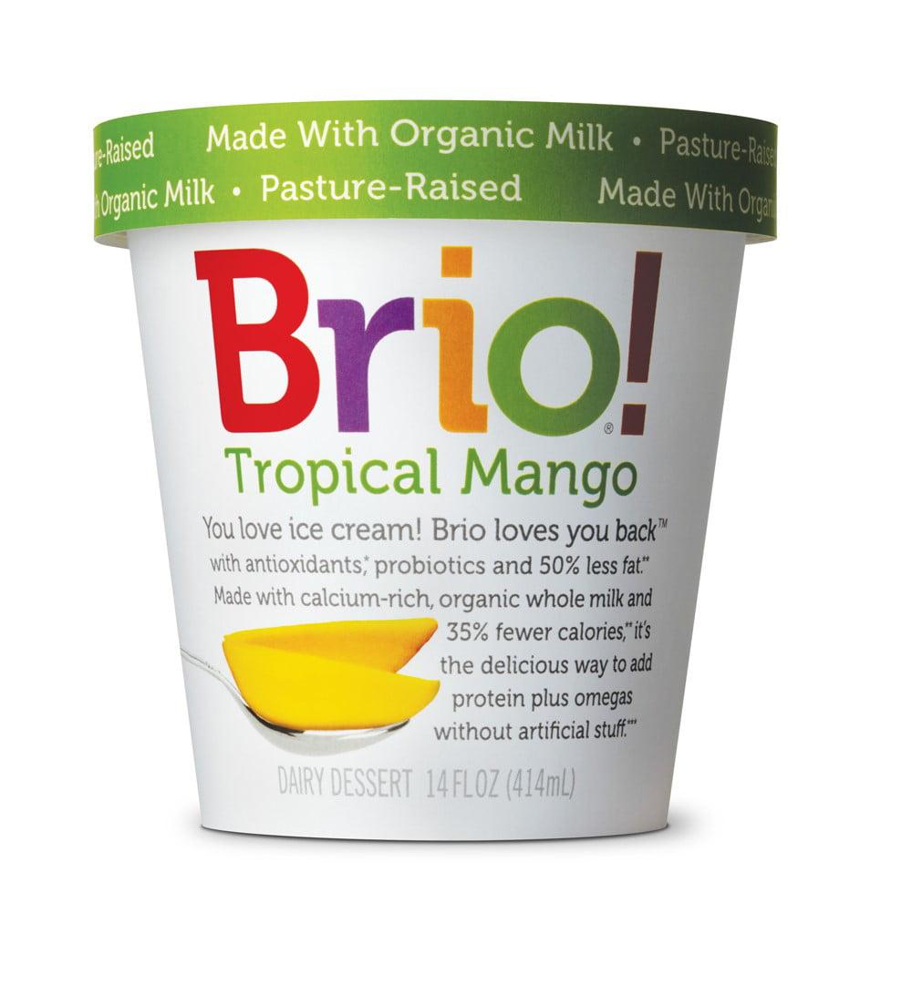 Brio! Tropical Mango Ice Cream 14oz