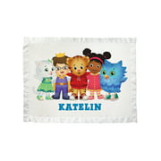 Personalized Daniel Tiger's Neighborhood Group Baby Blanket