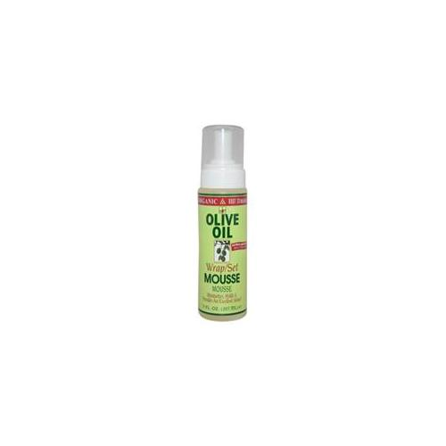 Organic U-HC-6728 Organic Root Stimulator Olive Oil Wrap/Set Mousse - 7 oz - Mousse