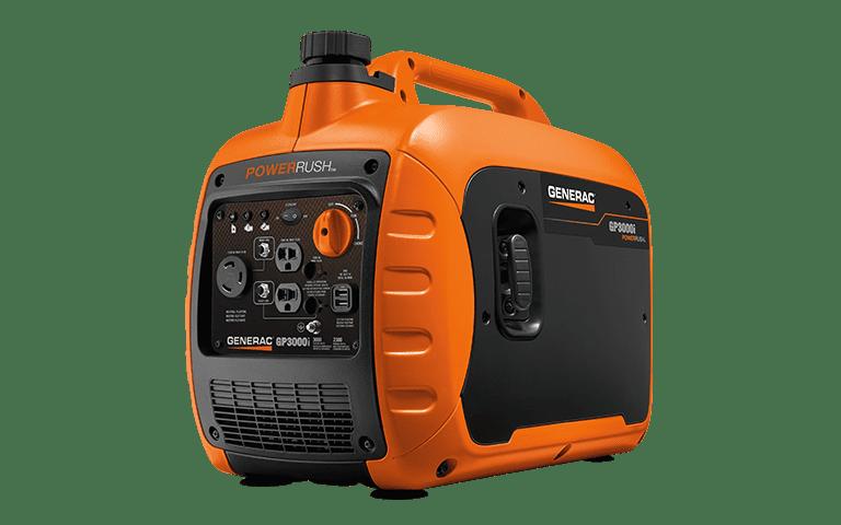Generac GP3000i - 3000 Watt Inverter Generator - 50 State/CSA