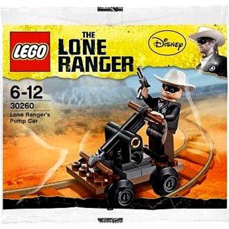 The Lone Ranger Lone Ranger's Pump Car Mini Set LEGO 30260 [Bagged]
