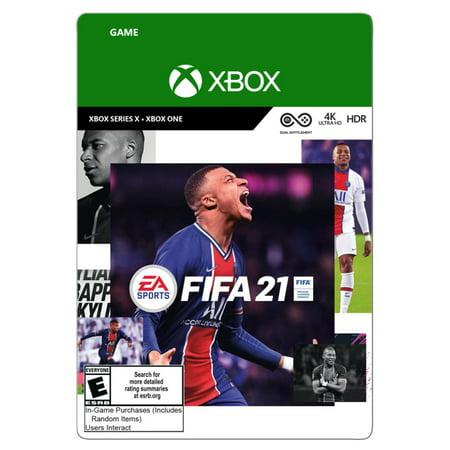 FIFA 21 Standard Edition, Electronic Arts, XBox [Digital Download]