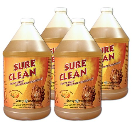 Sure Clean Mechanics Hand Soap 4 Gallon Case Walmart Com