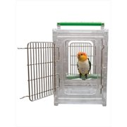 Caitec 50002 Perch and Go Polycarbonate Bird Carrier