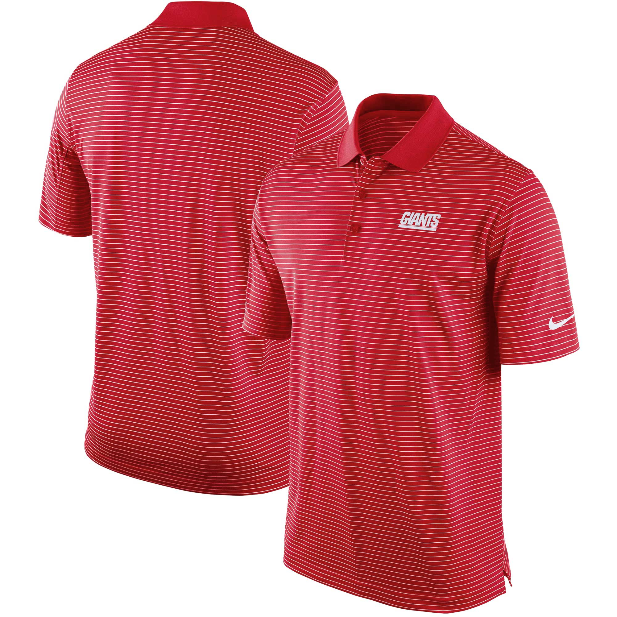 New York Giants Nike Team Stadium Performance Polo - Red