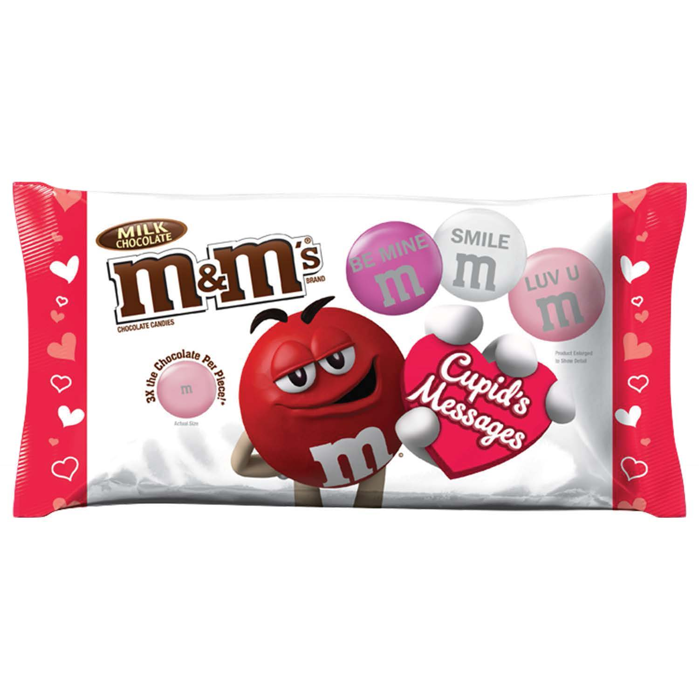 M&M\'s, Valenetine\'s Day Milk Chocolate Mega Size Candy, 9.5 Oz ...