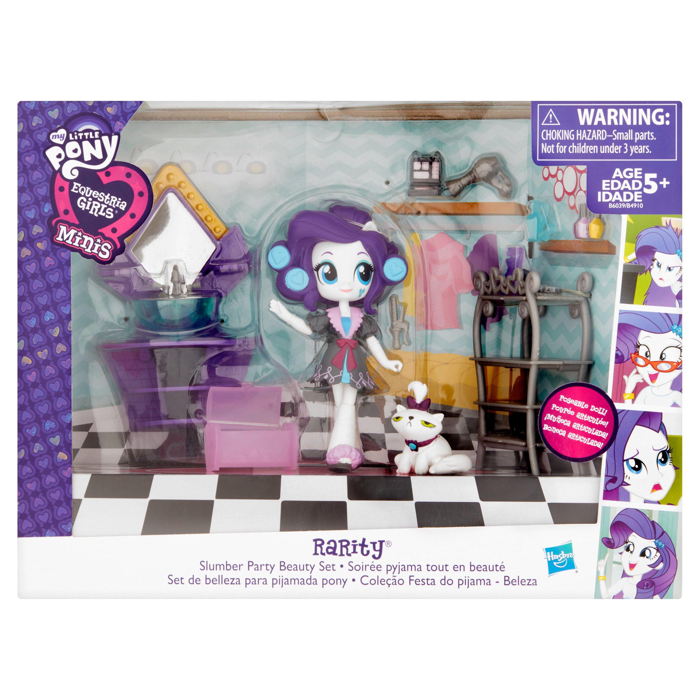 My Little Pony Equestria Girls Minis Rarity Slumber Party Beauty Set by Hasbro