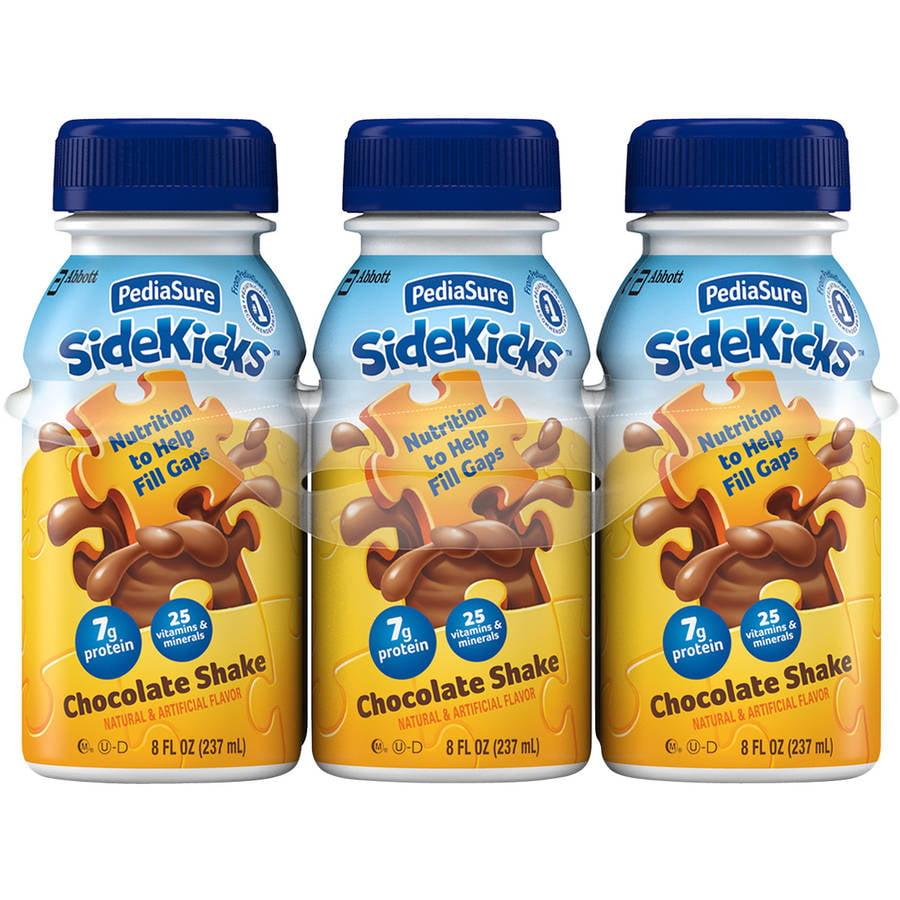 PediaSure SideKicks Chocolate Shakes, 8 fl oz, 6 count