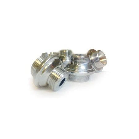 - VAPOR HOOKAHS EXTRA LARGE HOOKAH HOSE SCREW CONVERTER: SUPPLIES FOR HOOKAHS – This narguile pipe accessory is made of Zinc parts. They are silver adapter accessories for shisha pipes.