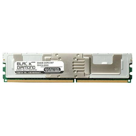4GB RAM Memory for Dell PowerEdge 1955 240pin PC2-5300 DDR2 FBDIMM 667MHz Black Diamond Memory Module Upgrade
