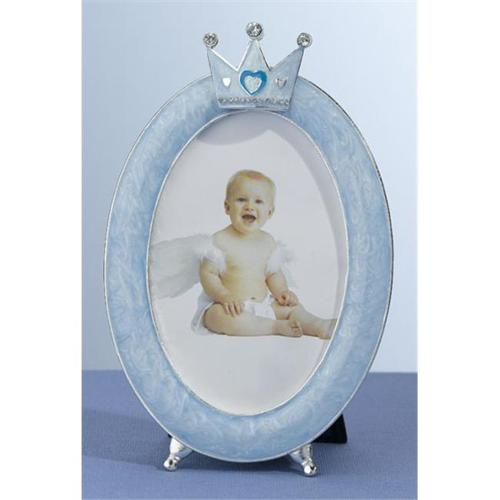 Lillian Rose 24FR305 B Oval Crown Frame 3. 5X5 Blue