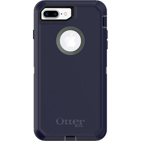 OtterBox Defender Series Case for iPhone 8 Plus & iPhone 7 Plus, Stormy Peaks - Walmart.com
