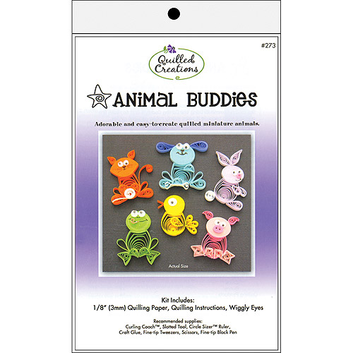Quilled Creations Animal Buddies Quilling Kit