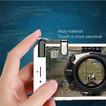 Mobile Game Fire Button Aim Key Gaming Trigger L1R1 Shooter Controller for PUBG - image 7 de 8