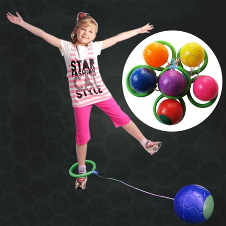 6 Colors Skip Ball Outdoor Fun Toy Balls Classical Skipping Toy Fitness Equipment Toy Encourage Children To Exercise
