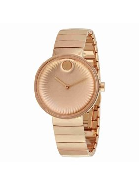 Movado Edge 3680013 Rose Gold Ion-Plated Stainless Steel Women's Watch