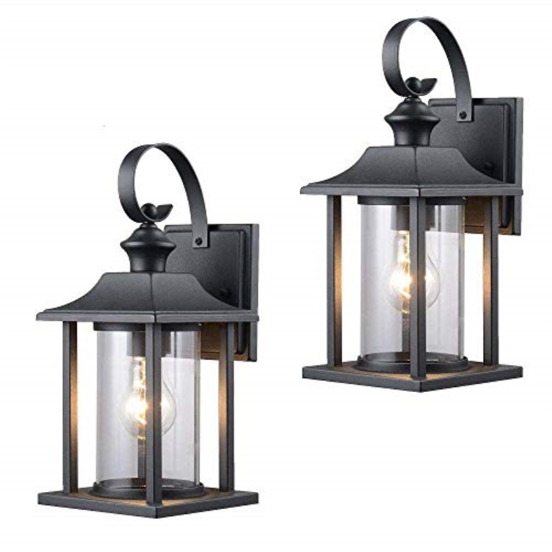 Twin Pack Designers Impressions 73478, Wall Mount Outdoor Lighting