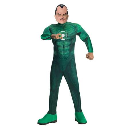Child Green Lantern Deluxe Sinestro Costume Rubies 884576 - Sinestro Costume