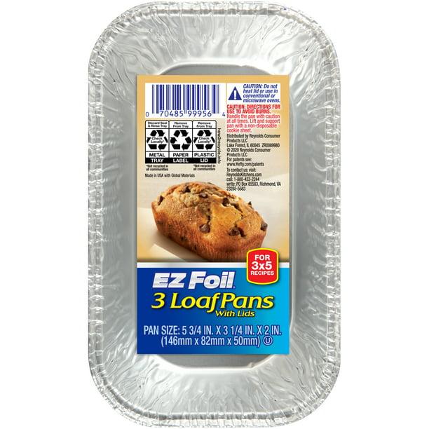 Hefty Ez Foil Bake Mini Loaf Pan Walmart Com Walmart Com