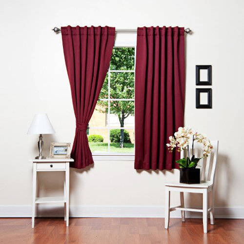ALEKO Thermal-Insulated Blackout Curtain Panel Set by ALEKO