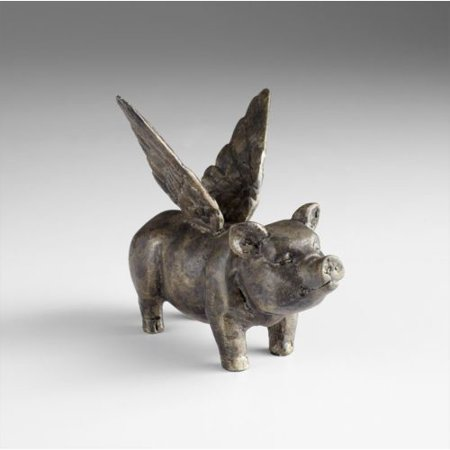 - Cyan Design Floyd Flying Pig Sculpture