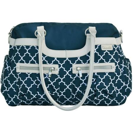 jj cole satchel diaper bag navy arbor. Black Bedroom Furniture Sets. Home Design Ideas
