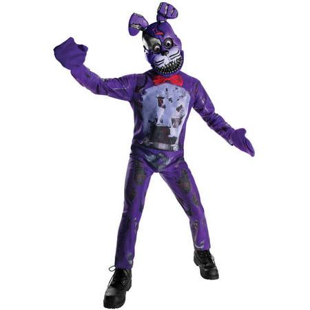 Fnaf Bonnie Halloween Costume (Child Nightmare Bonnie)