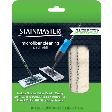 STAINMASTER Microfiber Cleaning Pad Refill for Floor Mop Sweeper, 1ct