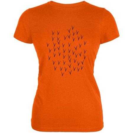 Halloween Oriole Bird Costume Juniors Soft T Shirt