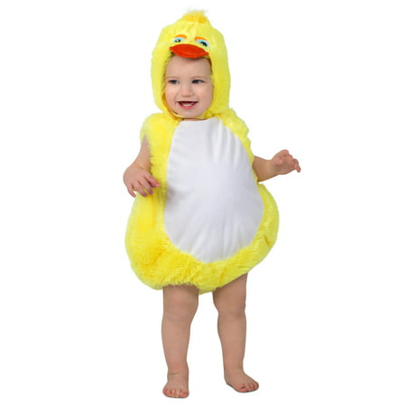 Toddler Plucky Duck Suit Halloween Costume](Man With The Yellow Hat Costume Toddler)