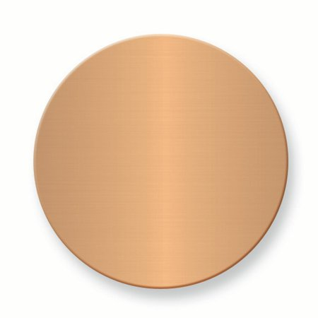 - 1 1/2 X Round Copper Aluminum Plates Sets Of 6 Inspirational Trophy Award Engraving Plate Gifts For Women For Her mothers day gifts mom wife daughter