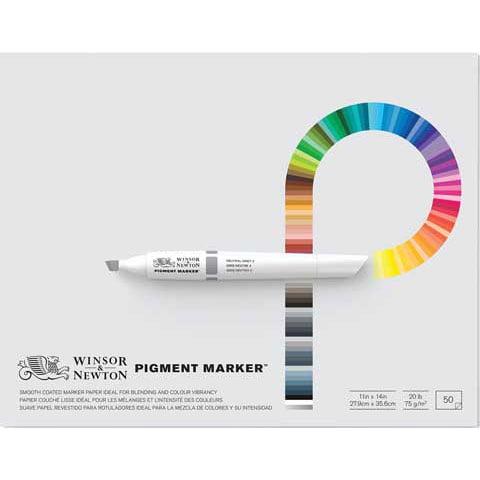 Winsor & Newton Marker Paper Pad: 11 X 14 inches