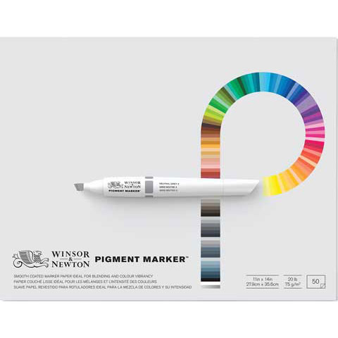 Winsor & Newton Marker Paper Pad: 11 X 14 inches